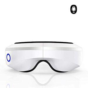 Yang FMOGE Máquina vibradora de compresión de Calor de presión de Aire Plegable de masajeador de Ojos eléctrico con música de Bluetooth