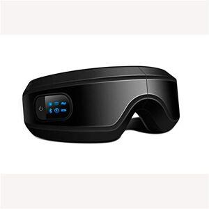 XZWLD Conexión Plegable Vibraciones Ojo Del Massager Del Cuidado De La Vista Del Sueño Ayuda Inteligente Música Ayuda Para El Sueño Bluetooth Ecológico Tela ,B