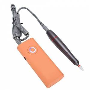 Diydeg Taladro de uñas, pulidor de uñas, cómodo cuerpo compacto de la máquina de poco ruido para el hogar del salón de uñas(110~240V, U.S. standard)