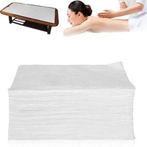RZMY Sábana de cama desechable no tejida, 100 piezas de papel de mesa de masaje transpirable para el día de la madre, masaje de spa