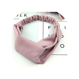 LiuFa5 2019 Lady hairband Solid color Headband Turban Elastic Head Wrap Women Hair Accessories for Women Striped Hair Bands C08,37