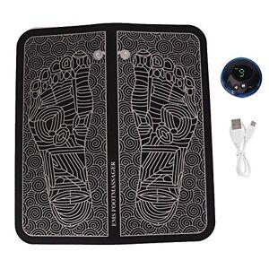 Fictory Masajeador de pies EMS Masajeador eléctrico de pies con almohadilla de masaje para pies EMS Estimulador de acupuntura(rechargeble)
