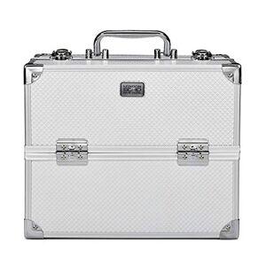 SOHO Pro Texture Diamond Silver Beauty Case