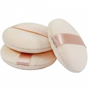 JOLY Powder Puff for Makeup Face Powder (3 Pieces) by