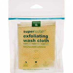 Earth Therapeutics Loofah Super Exfoliating Wash Cloth 1 Count