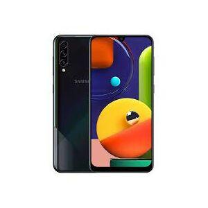 Samsung Galaxy A50s (SM-A507FN/DS) Dual SIM 128GB gsm Desbloqueado, versión Internacional, sin garantía, Prisma aplastado Negro