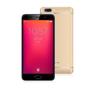 "GHIA Smartphone  Zeus 3G Pantalla de 5.5"" HD IPS 1GB de RAM 8GB de Memoria Doble Cámara Wi-Fi Bluetooth Android 7 Champagne"