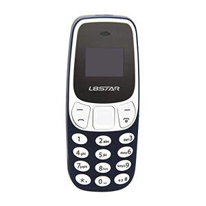 ROWEQPP BM10 Pocket Mini gsm Teléfono móvil Bluetooth Dialer Headset Teléfono móvil Blue