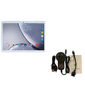 anglebless109MX MT6753 10.1 Pulgadas Android 8.1 Tablet PC 4GB + 64GB Almacenamiento Doble Ranura para Tarjeta SIM 8.0MP Cámara 4G Llamada telefónica con GPS FM