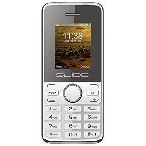 """Slide CB2002WH Celular Mundial 1.8"""", Color Blanco.Desbloqueado"""