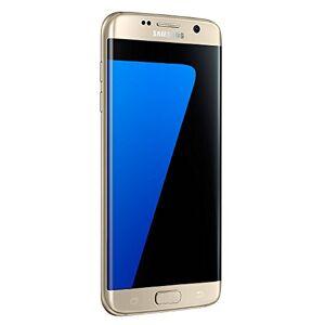 Samsung Galaxy S7 Edge Celular 32 GB Color Gold Desbloquedado (Unlocked) Reacondicionado (Renewed)