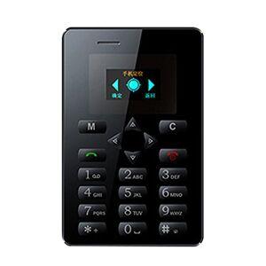 INLAR Mini teléfonos celulares desbloqueados, tamaño de Bolsillo, 32 MB de RAM, Ultra Delgados, 2,54 cm, teléfonos móviles prácticos, 38 H, de Largo, en Espera, M5, Mini teléfono para Estudiantes