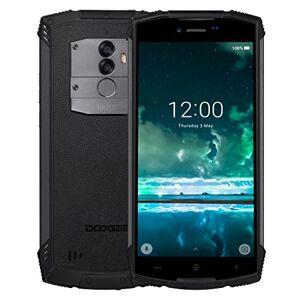 JUNXI PHONE CASE S55 Triple Proofing Phone, 4GB + 64GB, IP68 a prueba de polvo a prueba de golpes a prueba de agua, batería de 5500mAh, cámaras traseras dobles, identificación de huellas dactilares, 5.5 pul