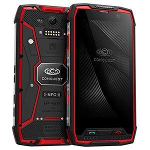 Banerqi Teléfono Inteligente Resistente Conquest S11: IP68, Android 7.0, Octa Core, ROM de 64 GB, GPS, Huella Digital
