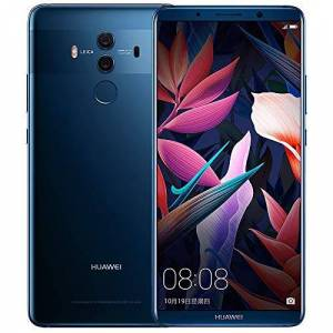 Huawei Mate 10 Pro 6GB + 128GB 6.0 Pulgadas 20.0MP NFC Huella Digital 4G LTE Teléfono móvil Kirin 970 Android 8.0 Dual Sim Smartphone (Azul Medianoche)