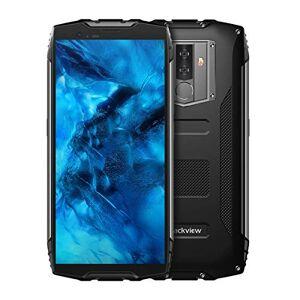 Banerqi Blackview BV6800 Pro Smartphone de 5,7 pulgadas FHD 18:9 con visualización militar estándar, IP68 resistente al agua, a prueba de golpes, a prueba de polvo, octa Core 4 GB + 64 GB, NFC, OTG, 16 MP, cámara de cara, ID (Negro)