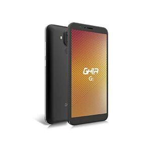 "GHIA CEL-187 G1 Smartphone G1 4G Pantalla de 5.72"" HD IPS Fingerprint Doble Cámara 1GB RAM 16GB Almacenamiento Negro, Negro"