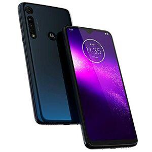 Motorola One Macro GSM Teléfono desbloqueado, 64 GB, Azul (Space Blue)