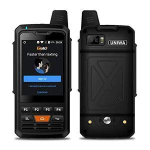 Banerqi Teléfono Inteligente para Exteriores UNIWA F50 2.8 Pulgadas FHD, 1GB + 8GB, teléfono Inteligente 4G Android 6.0 4000mAh batería, IP68 / IP69K a Prueba de Agua/a Prueba de Golpes/Polvo