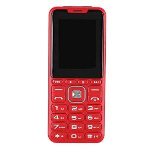 S erounder Teléfonos celulares desbloqueados con Pantalla HD de 3 Pulgadas, Red gsm 2G 4 Tarjeta SIM Teléfono móvil con cámara, Linterna LED y botón Grande para Ancianos y niños(Rojo-EE. UU.)