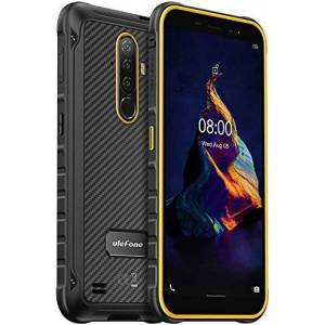 Ban Teléfono móvil resistente, teléfono inteligente Armor X8 Android 10 IP68 a prueba de agua, 4GB + 64GB, SD externo de 256GB, cámara triple subacuática de 13MP, pantalla HD + de 5.7 pulgadas (naranja)