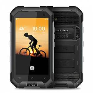 "Blackview BV6000 Tri-prueba Smartphone IP68 Impermeable 4G LTE A Prueba de Choques a Prueba de Polvo (4.7"" HD Pantalla 64Bit MT6755 Octa-core 2.0GHz 3GB+32GB 13.0MP Android 6.0 Compass GPS+GLONAS)"