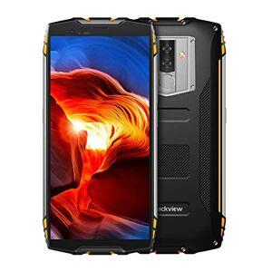 Banerqi Blackview BV6800 Pro Smartphone de 5,7 pulgadas FHD 18:9 con visualización militar estándar, IP68 resistente al agua, a prueba de golpes, a prueba de polvo, octa Core 4 GB + 64 GB, NFC, OTG, 16 MP, cámara de cara, ID (Amarillo)