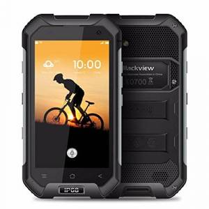 "Blackview BV6000S Smartphone Android 6.0impermeable IP684.7"" HD MT6735cuatro núcleos, 2GB de RAM 16GB ROM teléfono celular (negro)"