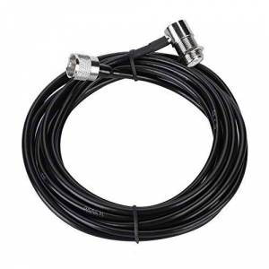 Oumij Cable de Extensión Adaptador Coaxial SMA Macho a SMA Hembra Antena WiFi LAN WAN Router Cable RF Cable de Extensión SMA
