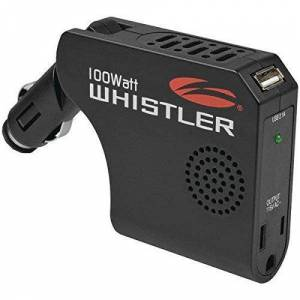 Whistler XP100i Power Inverter: 100 Watt Continuous / 200 Watt Peak Power