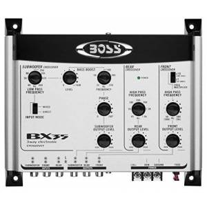 Boss Audio BX35 3-Way Pre-Amp Electronic Crossover with Remote Subwoofer Control