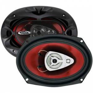 "Boss Audio CH6930 Chaos Exxtreme 400W, 3 way 6"" x 9"" Full Range Speakers"