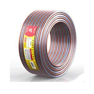 MUZIWENJU Cable de Audio, Cable de Audio de Grado de ingeniería de Cobre Puro, Cable de Audio, Cable de Amplificador de Altavoz, Cable de Altavoz, 100 núcleos de 20 Metros / 25 Metros, (Size : 10M)