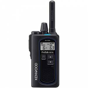 Kenwood NX-P500 ProTalk Digital Two-Way Radio, Loud Audio, Rugged and Submersible, Analog and Digital Mode, 6 Channel Operation, Individual and Group Calls, 99 User-Programmable Frequencies