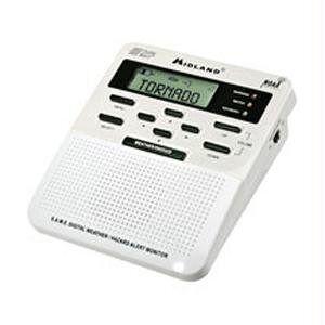 Midland WR-100 WeatherAlert Radio meteorológica Todo Peligro (suspendido por el Fabricante)