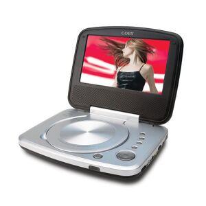 "Coby TF-DVD7005 Mesa 7"" Negro Reproductor portátil (Mesa, Negro, CD de Audio, CD-R,CD-RW,DVD-R,DVD-RW, NTSC,PAL, 17.8 cm (7""))"