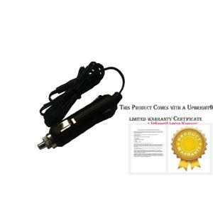EDOTech DC Cargador de Coche Cable Adaptador para Reproductor de DVD portátil Sylvania