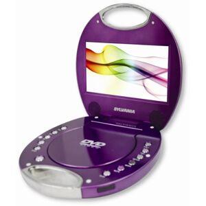 Sylvania SDVD7046-Purple 7-Inch Portable DVD Player with Integrated Handle, Purple