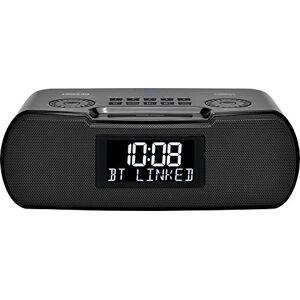 Sangean Radio Digital con Bluetooth/Aux-in/USB para teléfono con batería de Respaldo, RCR-30, Negro