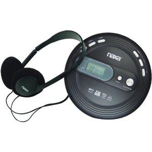 Naxa Electronics npc-330Slim portátil de CD y reproductor de mp3con radio FM y antichoque TECNOLOGÍA