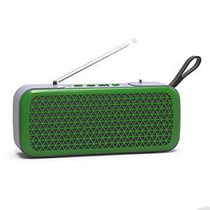 ZS Tarjeta De Audio Función De Llamada Estéreo Exterior Bluetooth Radio Mini Inalámbrico Exterior Portátil Móvil Gran Volumen Teléfono Móvil Pequeño Estéreo Subwoofer ( Color : 3 )