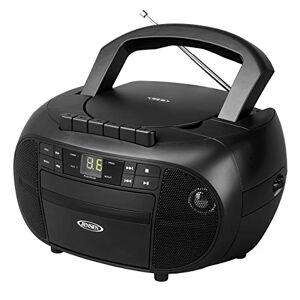 Jensen CD-550 Grabadora de Casete portátil con Radio Am/FM