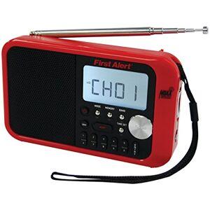 First Alert SFA1100 Am/FM Radio de Banda meteorológica con Alerta meteorológica y Reloj