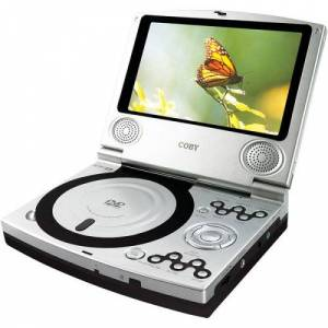 Coby TF-DVD7100 Portable DVD Player