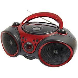 Jensen CD-490 Reproductor de CD estéreo Deportivo con Radio Am/FM y Entrada de línea Auxiliar