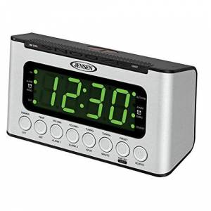 Jensen Wave Sensor Home Audio Radio, Plata (jcr-231)