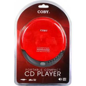 Coby Portable Compact CD Player (Red)