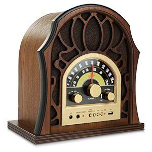 Pyle Durable; Fiable Home Audio Radio azpunp37bt, Color café