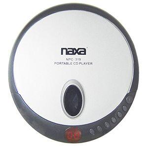 Naxa Electronics Naxa NPC-319 Slim Personal Compact Disc Player (Black)
