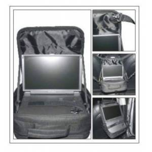"WennoW In Car & Carrying Case for Portable DVD Players upto 7"" 8"" 9"" 10"